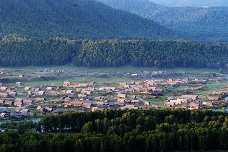 新疆-禾木村